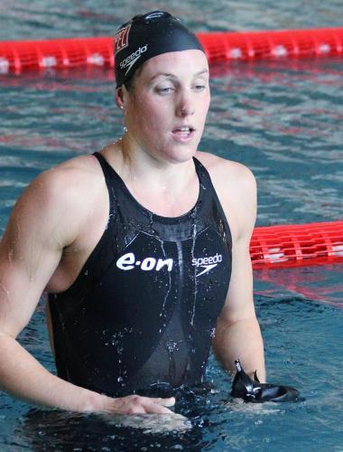 Olympijská víťazka a najrýchlejšia ženy planéty Marleen Veldhuis r. 2011